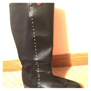 Micheal Kors black size 38 (7.5-8) women's boots